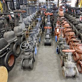 Surplus valve purchases
